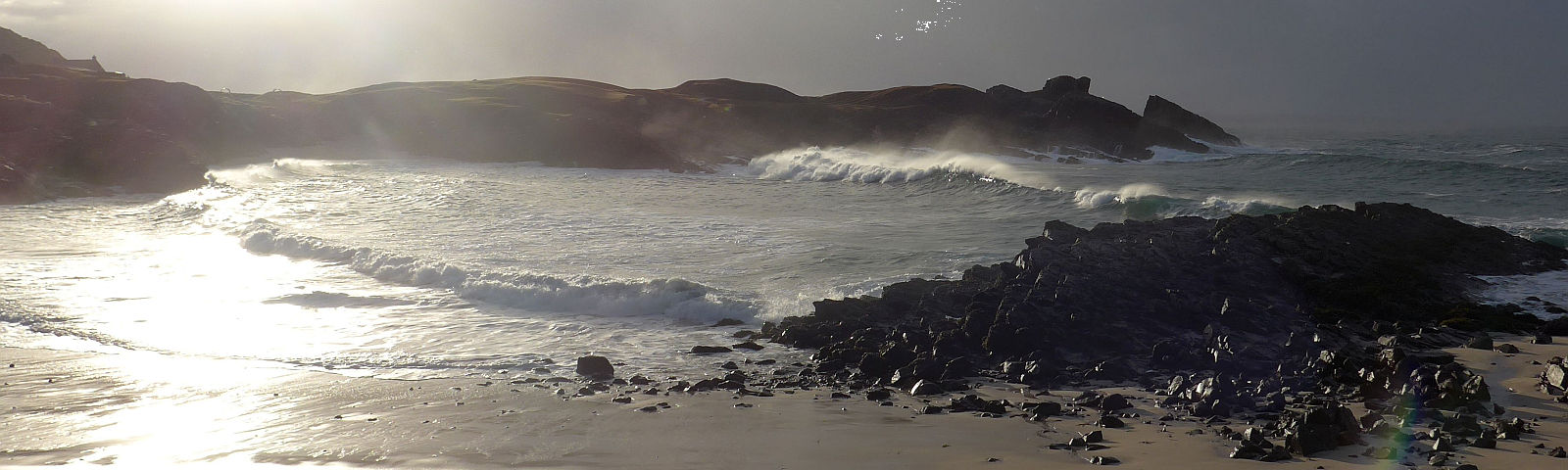 Split Rock and Clachtoll Beach